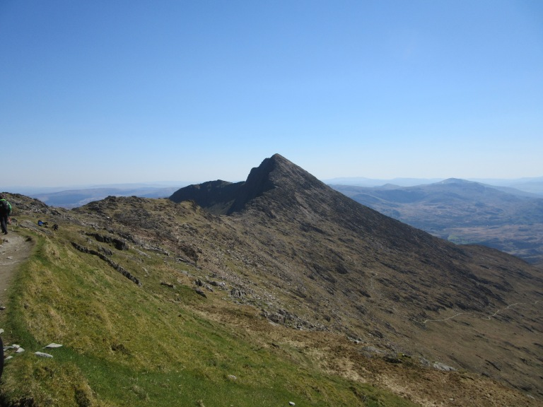 y Lliwedd from the Watkin Path